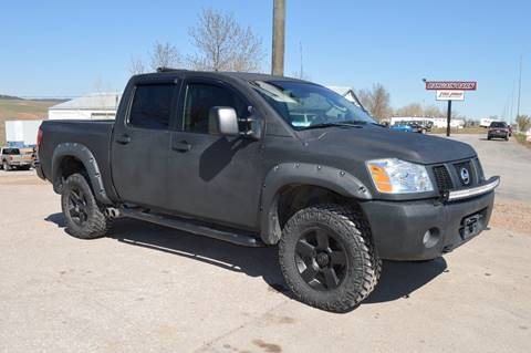 2006 Nissan Titan for sale at 1st Automotive in Rapid City SD
