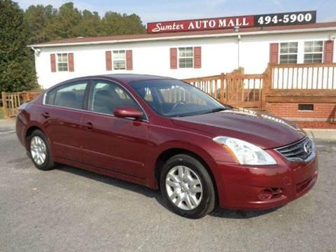 Sumter Auto Mall >> Nissan Altima For Sale In Sumter Sc Sumter Auto Mall Llc