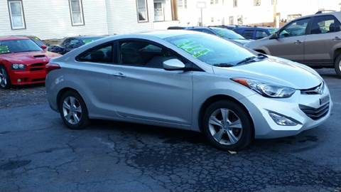 2013 Hyundai Elantra Coupe for sale in Middletown, NY