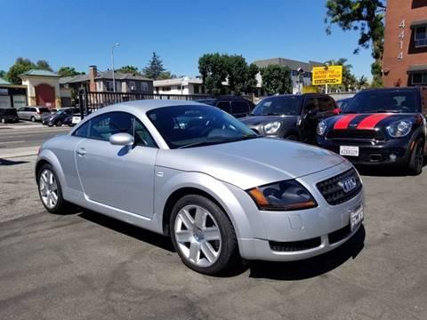 2004 Audi TT for sale at Auto Boomer Inc. in Sherman Oaks CA