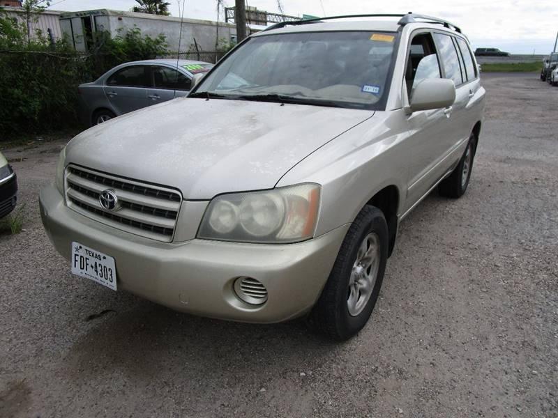 2003 Toyota Highlander Fwd 4dr SUV   Corpus Christi TX