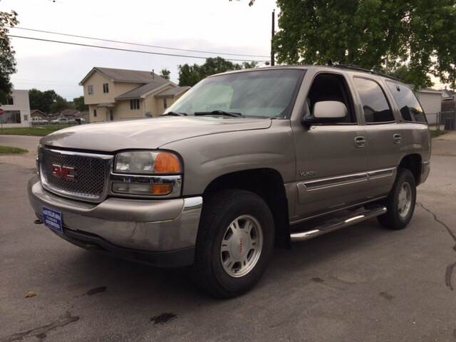 2001 gmc yukon slt 4wd 4dr suv in council bluffs ia blue collar auto inc. Black Bedroom Furniture Sets. Home Design Ideas