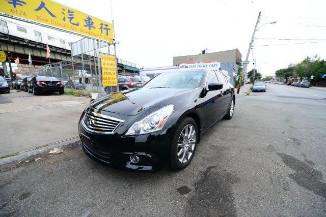 2011 Infiniti G37 X Sport Appearance Edition AWD 4dr Sedan   Brooklyn NY