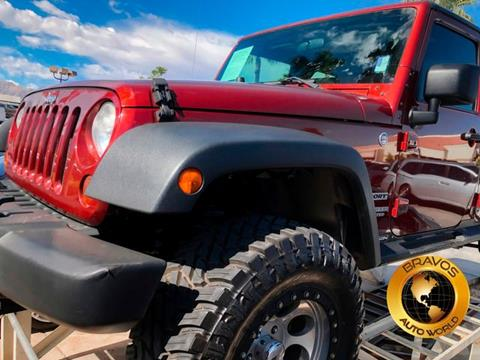 2010 Jeep Wrangler Unlimited for sale in Cathedral City, CA