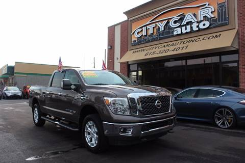 2017 Nissan Titan for sale at CITY CAR AUTO INC in Nashville TN