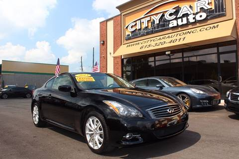 2013 Infiniti G37 Coupe for sale in Nashville, TN