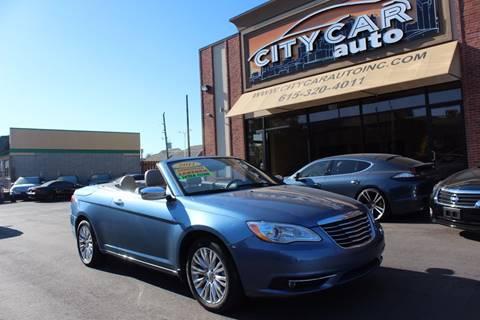 2011 Chrysler 200 Convertible for sale in Nashville, TN