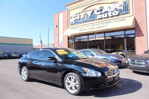 2014 Nissan Maxima for sale at CITY CAR AUTO INC in Nashville TN
