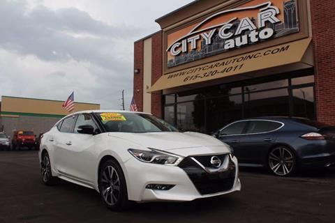 2016 Nissan Maxima for sale at CITY CAR AUTO INC in Nashville TN