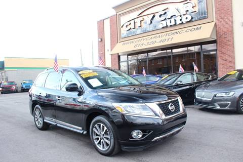 2015 Nissan Pathfinder for sale at CITY CAR AUTO INC in Nashville TN