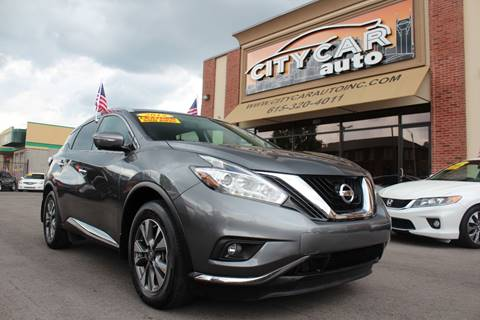 2015 Nissan Murano for sale at CITY CAR AUTO INC in Nashville TN