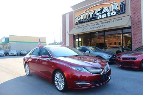 2013 Lincoln MKZ for sale at CITY CAR AUTO INC in Nashville TN