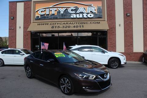 2016 Nissan Maxima for sale in Nashville, TN