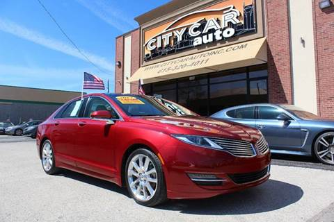 2014 Lincoln MKZ for sale at CITY CAR AUTO INC in Nashville TN
