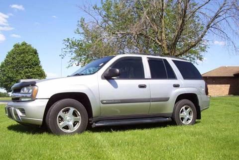2004 Chevrolet TrailBlazer for sale at McClain Auto Mall in Rochelle IL