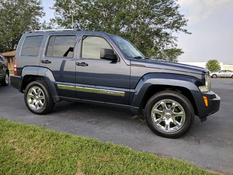 2008 Jeep Liberty for sale at McClain Auto Mall in Rochelle IL
