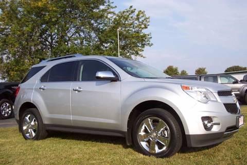 2012 Chevrolet Equinox for sale at McClain Auto Mall in Rochelle IL