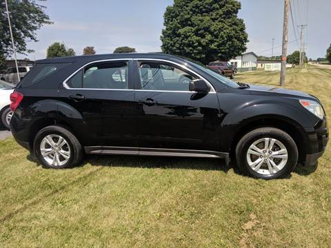 2011 Chevrolet Equinox for sale at McClain Auto Mall in Rochelle IL