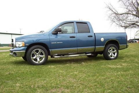 2004 Dodge Ram Pickup 1500 for sale at McClain Auto Mall in Rochelle IL