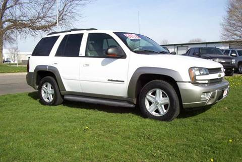 2003 Chevrolet TrailBlazer for sale at McClain Auto Mall in Rochelle IL
