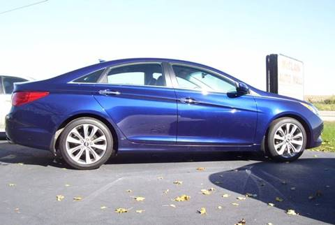 2012 Hyundai Sonata for sale at McClain Auto Mall in Rochelle IL