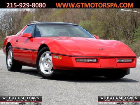 1986 Chevrolet Corvette For Sale In Philadelphia Pa