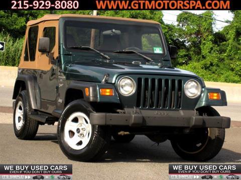 1999 Jeep Wrangler for sale in Philadelphia, PA