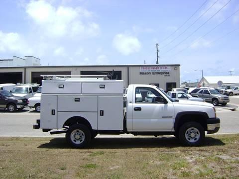 2005 Chevrolet Silverado 2500 for sale at Mason Enterprise Sales in Venice FL