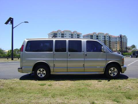 2002 Chevrolet Express Wagon LT for sale at Mason Enterprise Sales in Venice FL