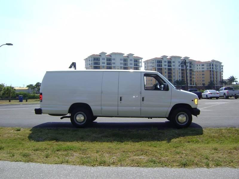 2002 Ford E-Series Cargo for sale at Mason Enterprise Sales in Venice FL