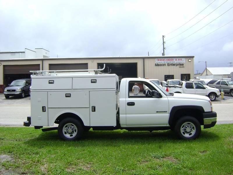 2005 Chevrolet Silverado 2500HD for sale at Mason Enterprise Sales in Venice FL