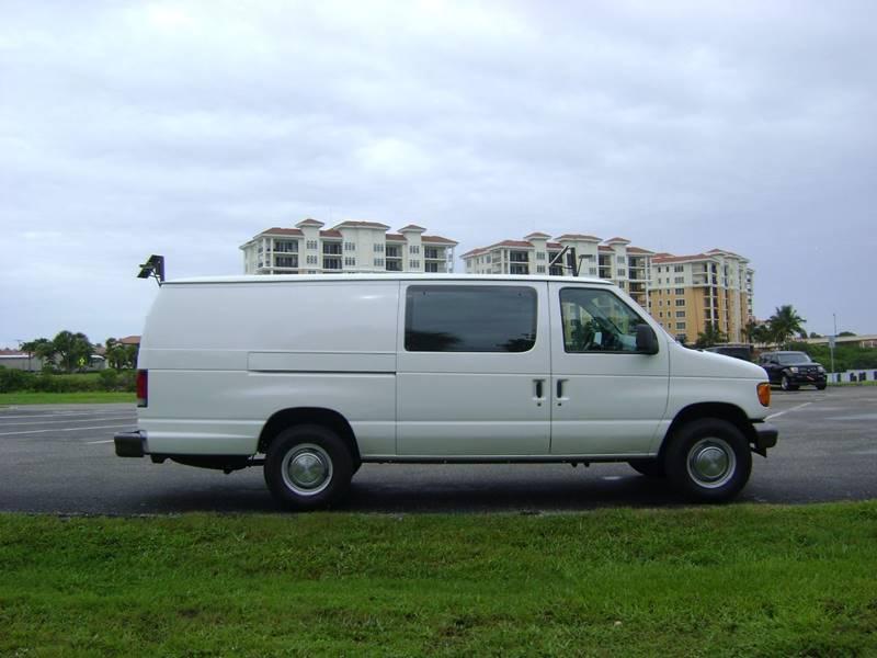 2005 Ford E-Series Cargo for sale at Mason Enterprise Sales in Venice FL