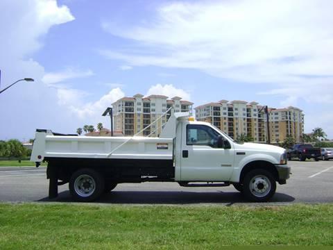 2003 Ford F-550 for sale at Mason Enterprise Sales in Venice FL