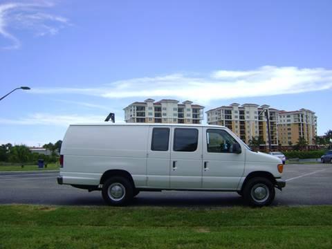 2004 Ford E-Series Cargo for sale at Mason Enterprise Sales in Venice FL