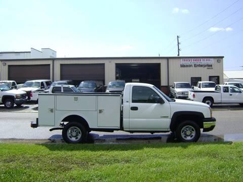 2003 Chevrolet Silverado 2500 for sale at Mason Enterprise Sales in Venice FL