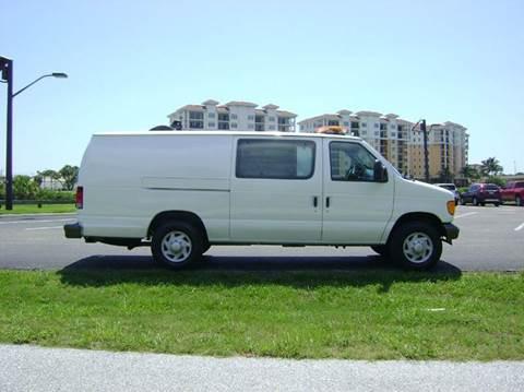 2007 Ford E-Series Cargo for sale at Mason Enterprise Sales in Venice FL