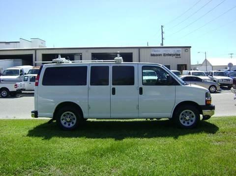 2010 Chevrolet Express Passenger for sale at Mason Enterprise Sales in Venice FL