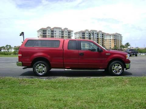 2008 Ford F-150 for sale at Mason Enterprise Sales in Venice FL