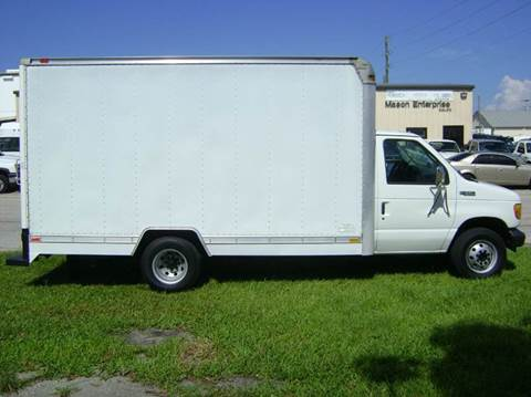 2003 Ford E-Series Chassis for sale at Mason Enterprise Sales in Venice FL