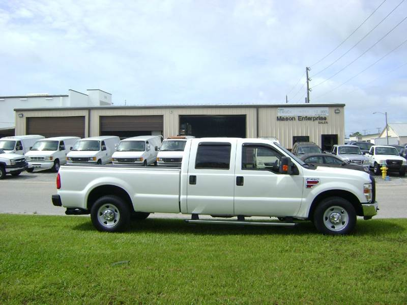 Ford F250 8 Foot Bed For Sale >> 2009 Ford F 250 Super Duty 4x2 Xl 4dr Crew Cab 8 Ft Lb Pickup In
