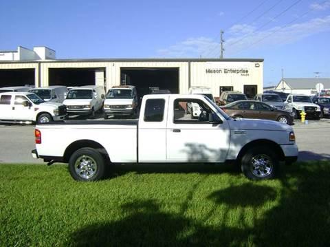 2009 Ford Ranger for sale at Mason Enterprise Sales in Venice FL