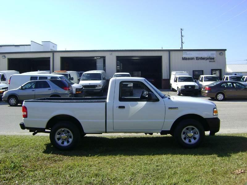 2010 Ford Ranger for sale at Mason Enterprise Sales in Venice FL