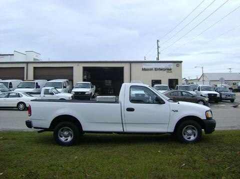 2002 Ford F-150 for sale at Mason Enterprise Sales in Venice FL
