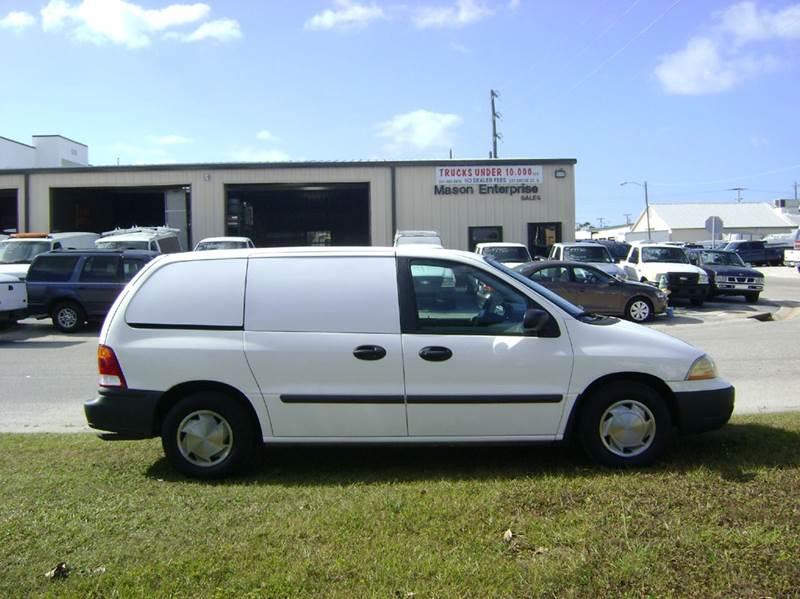 2003 Ford Windstar Cargo for sale at Mason Enterprise Sales in Venice FL