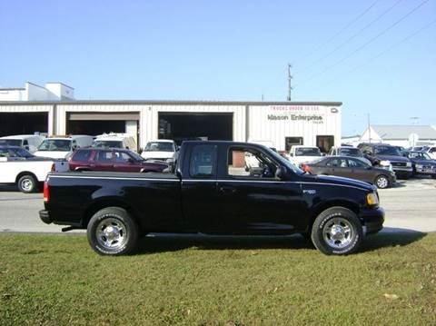 2003 Ford F-150 for sale at Mason Enterprise Sales in Venice FL