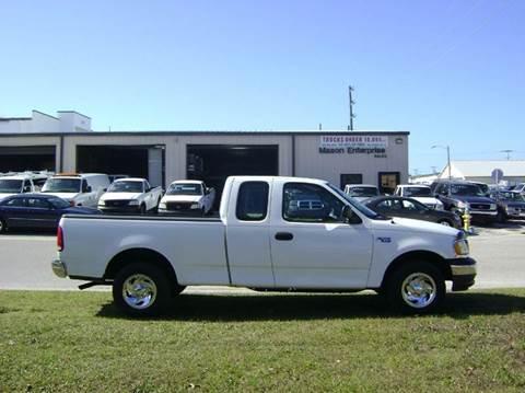 2000 Ford F-150 for sale at Mason Enterprise Sales in Venice FL