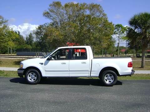 2001 Ford F-150 for sale at Mason Enterprise Sales in Venice FL