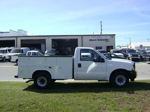 2002 Ford F250 XL for sale at Mason Enterprise Sales in Venice FL