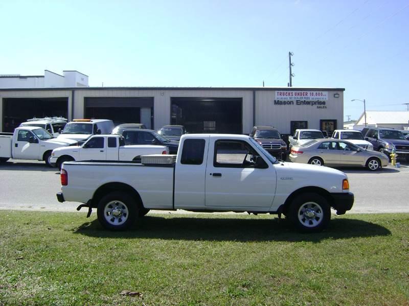 2003 Ford Ranger for sale at Mason Enterprise Sales in Venice FL