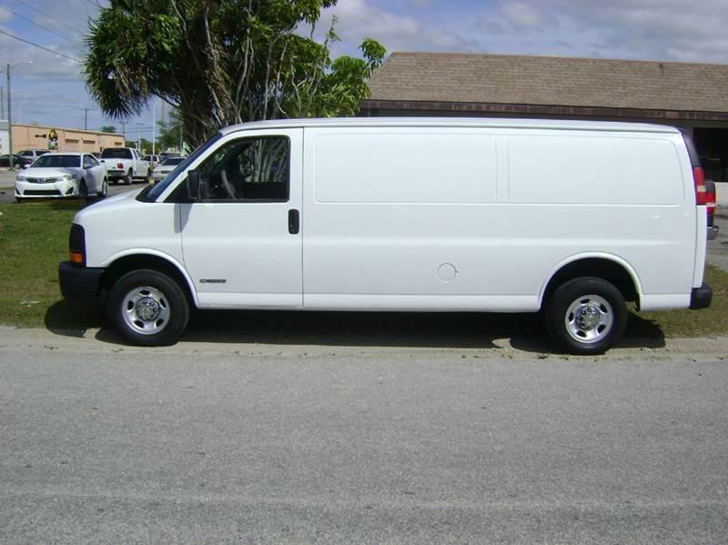2003 Chevrolet Express Cargo for sale at Mason Enterprise Sales in Venice FL